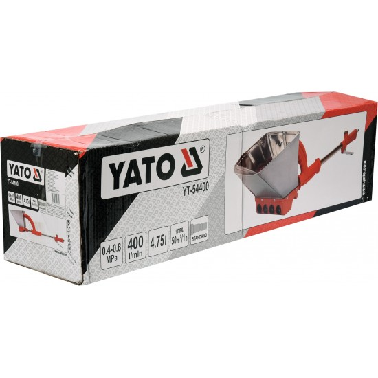 Ковш пневматический для штукатурки стен YATO YT-54400