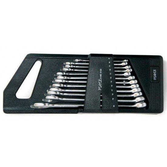 Набор ключей комбинированных 12пр. (8-22 мм.) FORCE 5123