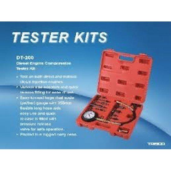 Дизельный компрессометр набор TRISKO (DT-200)