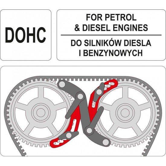Фиксаторы распредвала ГРМ для дизельных и бензиновых двигателей YATO YT-06008