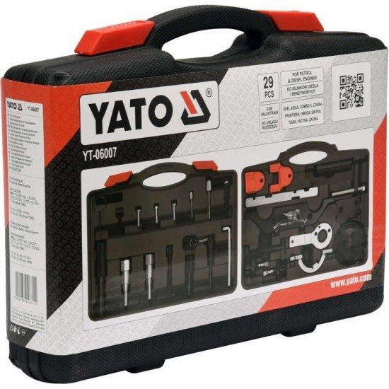 Набор фиксаторов ГРС дизельных и бензиновых двигателей YATO YT-06007