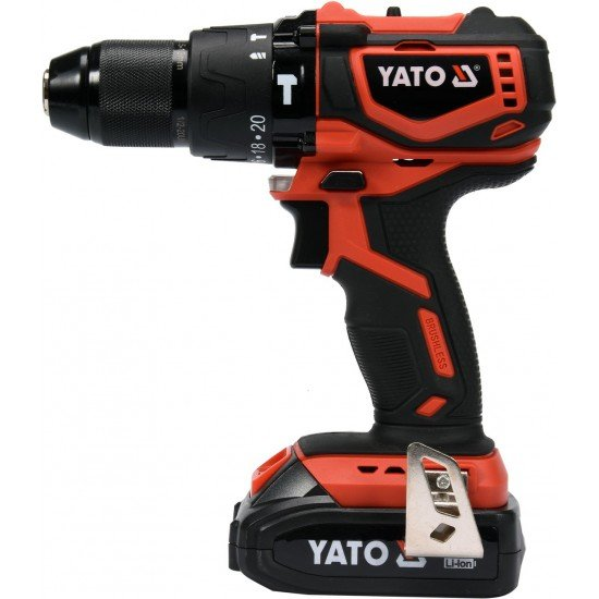 Screwdriver battery 18v brushless impact with YT-82796