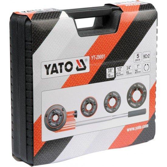 Клуппы трубные 4шт. Yato YT-29001