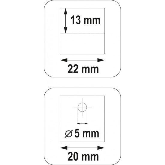 Hole punch-cromogen YATO YT-21582